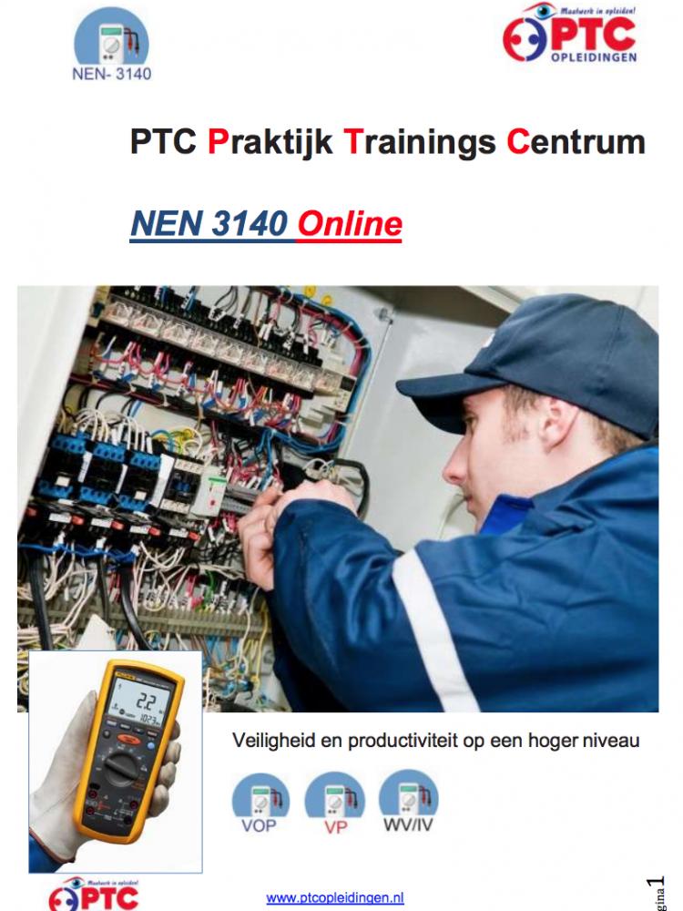 NEN 3140 online training
